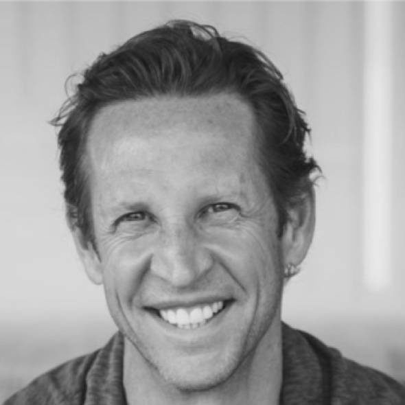 Black and white portrait of Ken Walker, Chief Product Officer at Greenfly