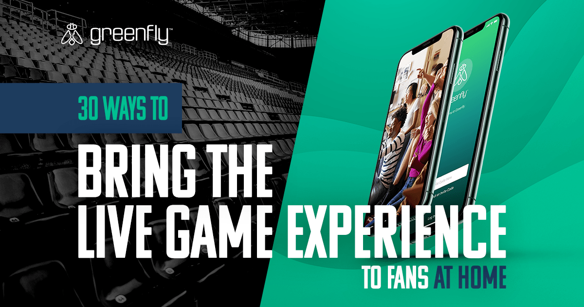 How Sports Organizations Can Adapt to Games Without Fans