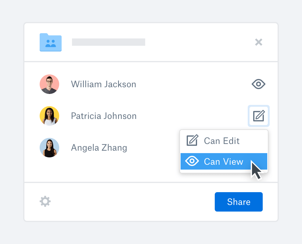 dropbox for collecting photos from groups